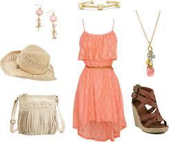 color matching summer dress