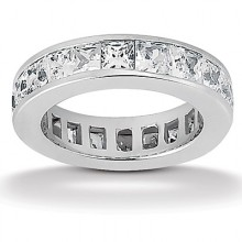 Eternity Wedding Bands Princess
