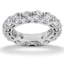 Eternity Wedding Bands  Round