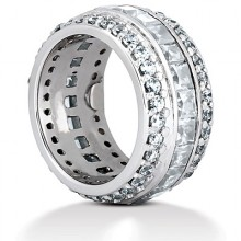 Eternity Combinations Wedding Bands