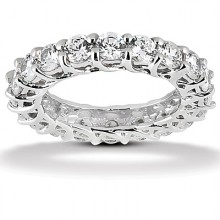 Eternity Round Wedding Bands