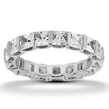 Eternity Princess Wedding Bands