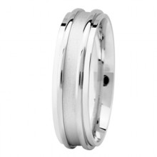 Basic Carved Wedding Bands Basic  Modern