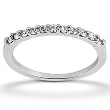 Wedding Bands  Round  Prong Set