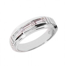 Baguette Wedding Band Sets