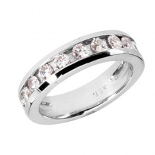 Round Wedding Band Sets